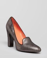 Via Spiga - Smoking Loafer Court Shoes Lorena High Heel - Lyst