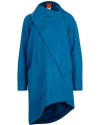 Vivienne Westwood Red Label - Melton Wool Blend Felt Coat - Lyst