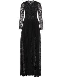 Alessandra Rich Snake Kilt Lace Gown - Lyst
