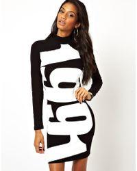 Asos Cut Out Bodycon Dress - Lyst