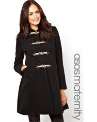 ASOS - Exclusive Duffle Swing Coat - Lyst