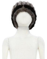 Class Roberto Cavalli Hat Fur Hat - Lyst