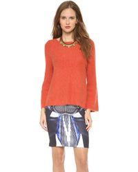 Clover Canyon - Angora Sweater - Lyst