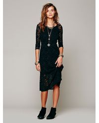 Free People Raindrops Lace Dress - Lyst
