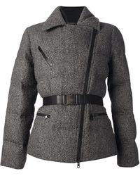 Gucci Padded Tweed Coat - Lyst