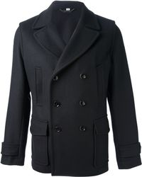 Hardy Amies - Double Breasted Coat - Lyst