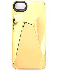 Marc By Marc Jacobs - Metallic Faceted Iphone 5  5s Case - Faceted Silver - Lyst