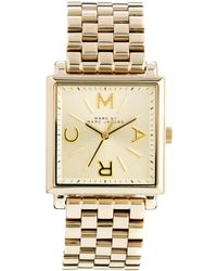 French Connection | Marc By Marc Jacobs Truman Gold Watch | Lyst