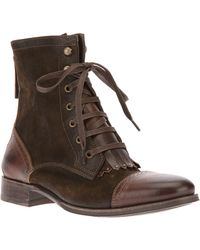 NDC Lace Up Ankle Boot - Lyst