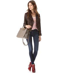 3x1 W3 Channel Seam Skinny Jeans - Wash No. 3 - Lyst