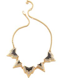 Juicy Couture - Angular Spike Necklace - Lyst