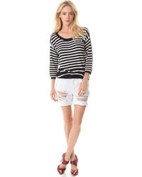 Juicy Couture Peyton Stripe Sweater - Lyst