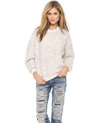 Nanushka - Katy Loop Stitch Sweater - Lyst