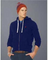 Polo Ralph Lauren | Full-Zip Fleece Hoodie | Lyst