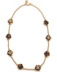 Tory Burch Walter High Necklace - Lyst