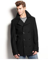Hugo Boss Hugo Coat Bocyn Peacoat  - Lyst