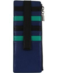Lodis - Melrose Leather Credit Card Holder with Pocket - Lyst