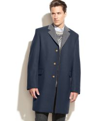 Michael Kors Sutton Wool-blend Overcoat - Lyst