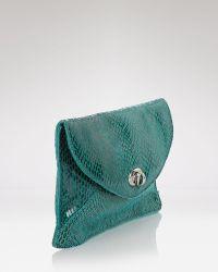 Sorial - Clutch Snakeskin Envelope - Lyst