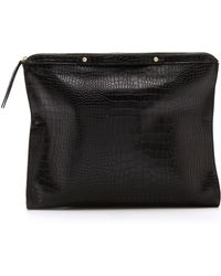 Twelfth Street Cynthia Vincent | Bankers Oversized Clutch | Lyst