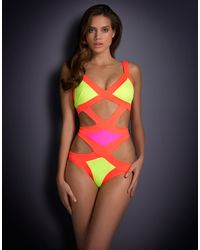 Agent Provocateur Mazzy Swimsuit - Lyst