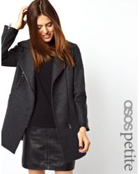 ASOS - Exclusive Biker Coat - Lyst