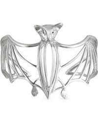 Bernard Delettrez - Silver Cated Bat Cuff Bracelet - Lyst