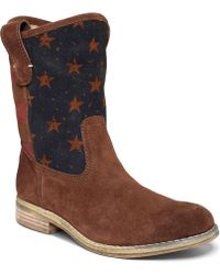 Denim & Supply Ralph Lauren - Denim and Supply Boots Ayla Casual Flag Booties - Lyst