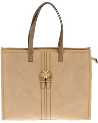 Fendi Large Leather Bag - Lyst