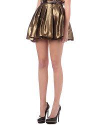 Izzue It Brocade Skirt - Lyst