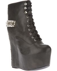 Jeffrey Campbell Ankle Boot - Lyst