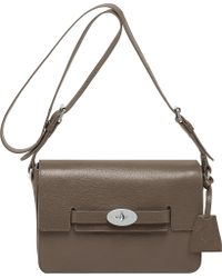 Mulberry Bayswater Shiny Goat Leather Shoulder Bag - Lyst