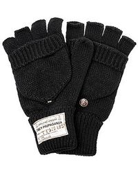 Obey The Draft Mittens - Lyst