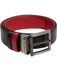 Oliver Sweeney - Malmsey Contrast Leather Belt - Lyst