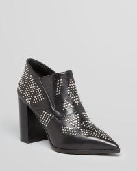 See By Chloé Ankle Platform Booties Sharon Studded High Heel - Lyst