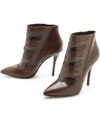 B Brian Atwood Duris High Heel Booties - Lyst