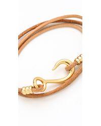 Giles & Brother - Hook Wrap Bracelet - Lyst