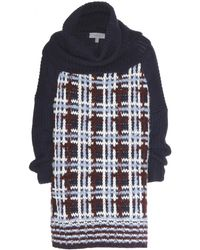Mulberry Oversized Woolblend Sweater - Lyst