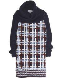 Mulberry Oversized Woolblend Sweater blue - Lyst