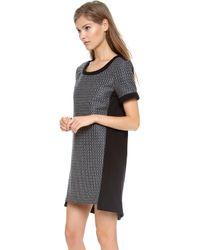Sea Combo Dress - Lyst