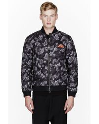 Originals x Opening Ceremony Grey Quilted Rock Climbing Bomber Jacket - Lyst
