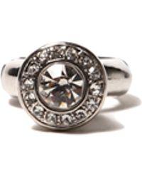 AKIRA - Urn Stone Ring in Silver - Lyst