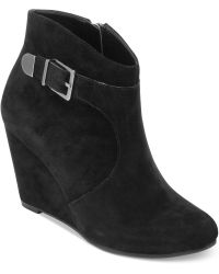 BCBGeneration Wooster Ankle Wedge Booties - Lyst