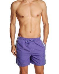 Calvin Klein Purple Swimming Trunks - Lyst