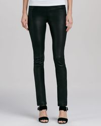 Cusp Stretchleather Ankle Leggings Black Xs - Lyst