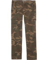 Grown & Sewn - Camo Cadet Cargo Pants - Lyst