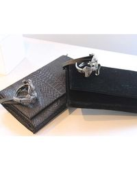 Viktor & Rolf Metallic Velvet Jeweled Cuff Bag - Lyst