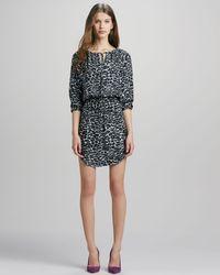 Amour Vert Suriya Printed Snow Leopard Dress Stylist Pick  Multi Xs - Lyst