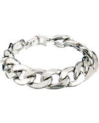 True Religion Asos Heavy Chain Bracelet - Lyst