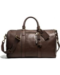 Coach Bleecker Duffle in Leather - Lyst